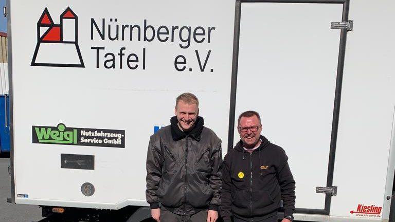 67e4d1c0c742e Zwei Hauptamtliche Fahrer Verstärken Ehrenamtliches Fahrerteam Der Nürnberger  Tafel